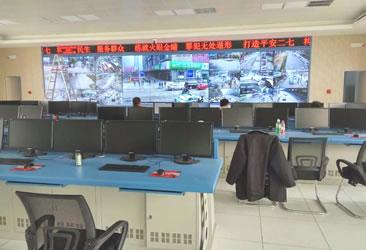 郑州市二七分局控制中心