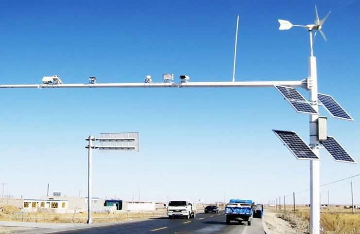 交通信号杆重要构架部分
