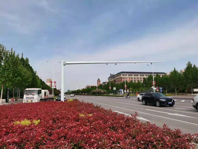 北京电子警察八棱杆